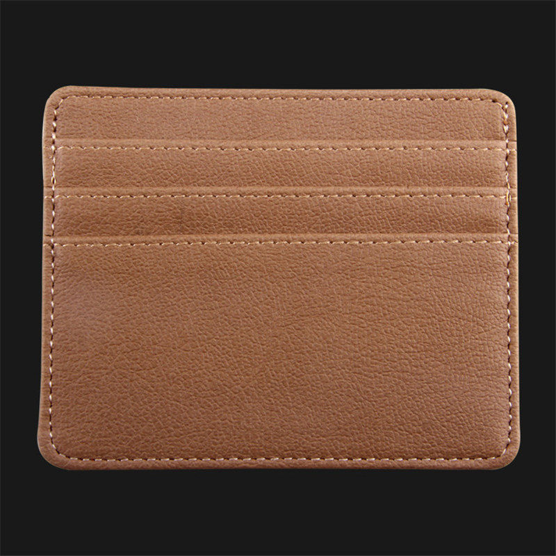 Unisex women men business credit card holder card holder id card unisex women men business credit card holder card holder id card holder leather purse wallet bags cardholder package organizer colourmoves