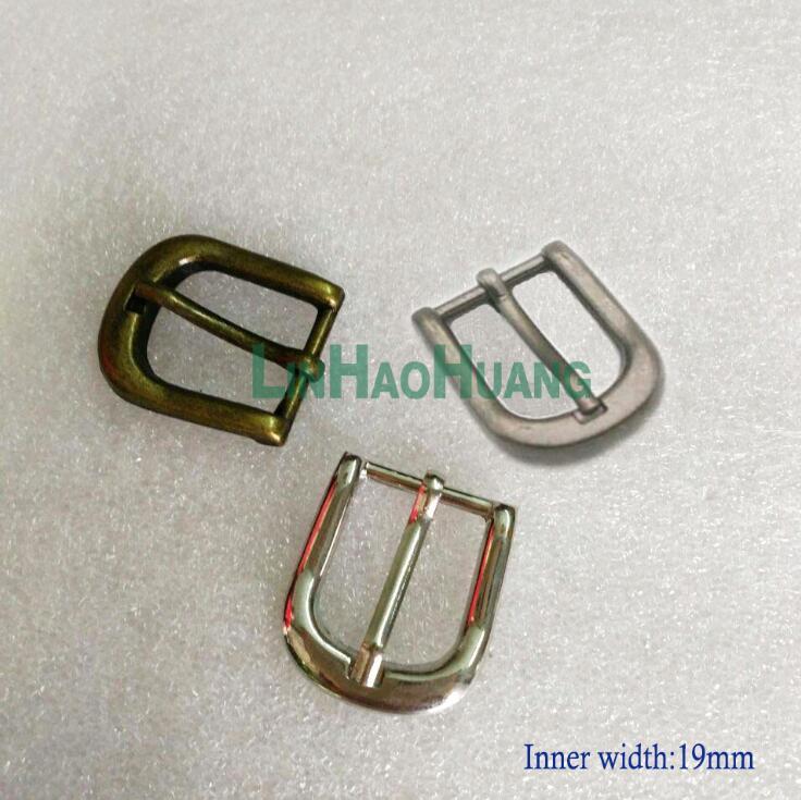 2ff80809cb70 24 pcs lot largeur Intérieure 19mm métal alliage boucle ceinture boucle  ardillon argent bronze noir lourd poids livraison gratuite 2015091802