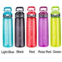 700 ML Botella de Agua de Alta Calidad Eco Friendly Saludable Adultos Deportes BPA Plástico Libre de Tipo Paja Drinkware Frasco de Color Con tapa