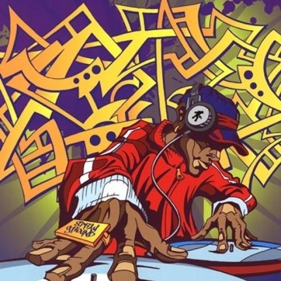 Sprayground – Yo DJ Laminated Poster (24 x 36)