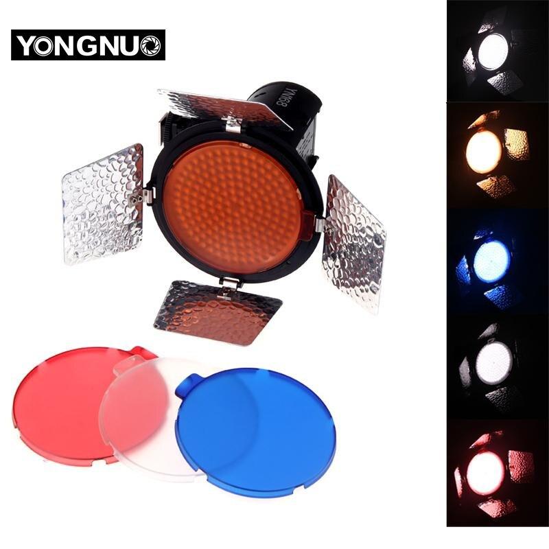 YNNUO YN168 YN-168LED וידאו אור מצלמה לירות עם 4 - מצלמה ותצלום