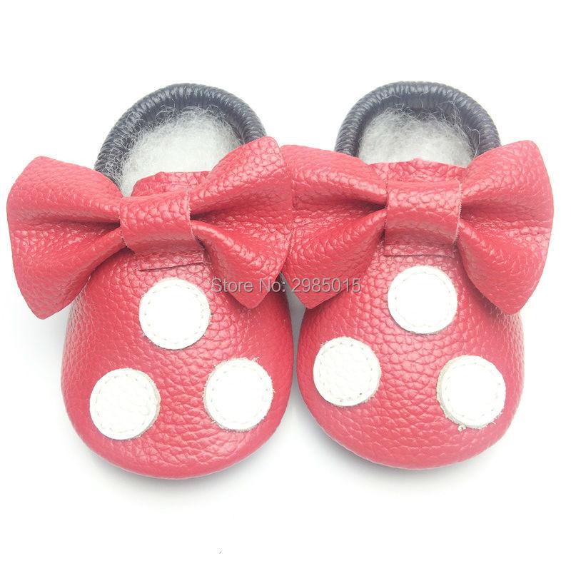 Nieuwe collectie gratis verzending baby schoenen Mickey en Minnie - Baby schoentjes - Foto 2
