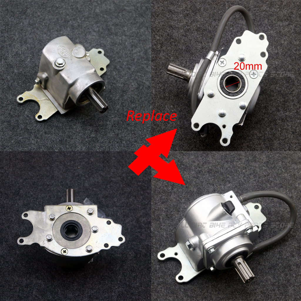 Uneversal Atv Reverse Transmission Gear Box With Steering Shaft 110cc 125cc 150cc 200cc 250cc Atv Quad Parts Atv Parts & Accessories