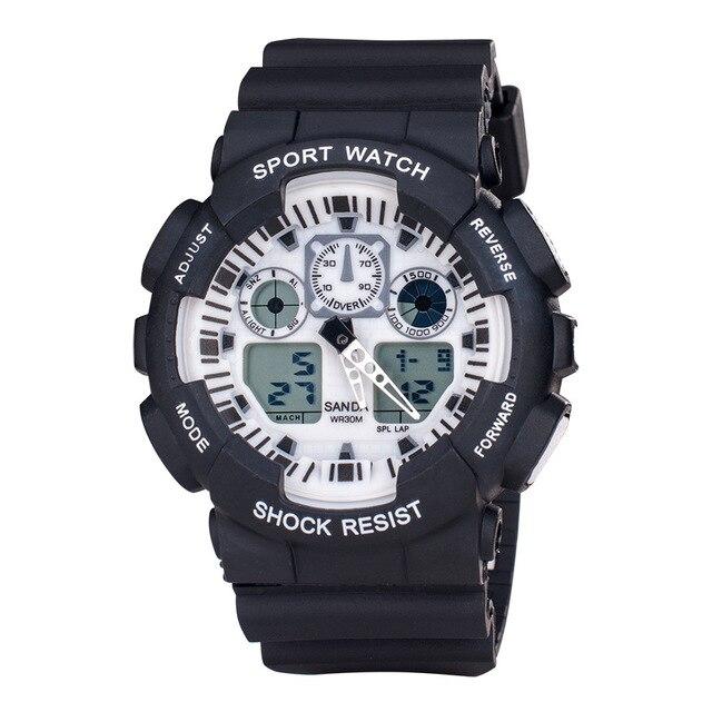 Top Marca Hombres Deportes Relojes LED Digital Reloj de La Manera Al Aire Libre Impermeable de Los Hombres Relojes de Pulsera Relogio masculino Regalo Saati Erkek
