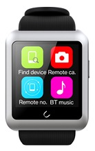 Original Uwatch U11 Smart Watch Bluetooth V4.0 2G GSM Sleep Monitoring Sedentary Reminder 360mAh Battery Wholesale