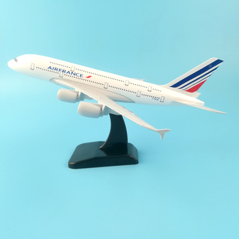 20CM Diecast Plane Model Concorde Air France Airplane 1/350 Scale Aircraft Alloy Kids Toys Collections