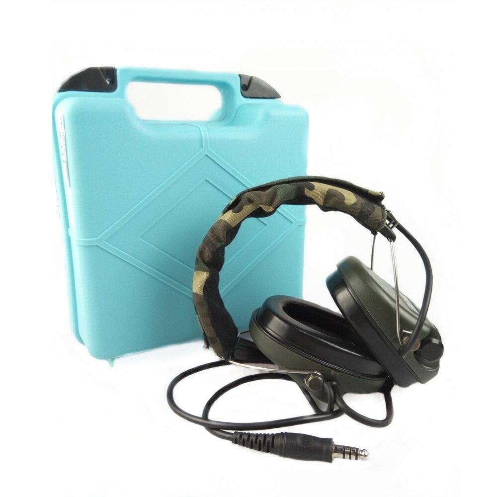 Z Tactical Military Headset Hoofdtelefoon Airsoft Radio Comtac IPSC - Jacht - Foto 6
