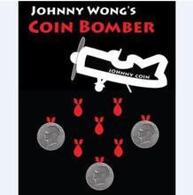 Coin Bomber(Morgan Coin Version)Magic Tricks Funny Stage Magic Coin Gimmick Illusion Mentalism Professional Magicians Magic Prop