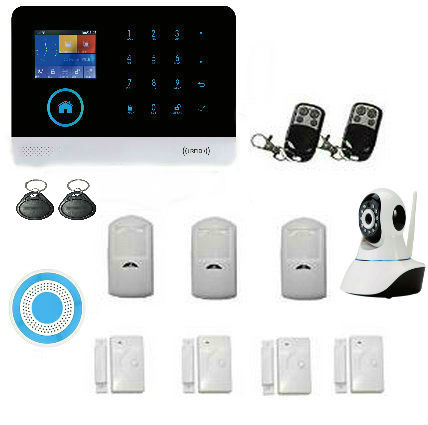 Yobang Security WIFI GSM Alarm System GPRS Security Burglar Alarm Apps Control Door/Window Sensor Alarm Home Alarm Systems yobang security gsm wifi auto dial home alarm system rfid tags intelligent alarma kits glass break sensor strobe siren sensor