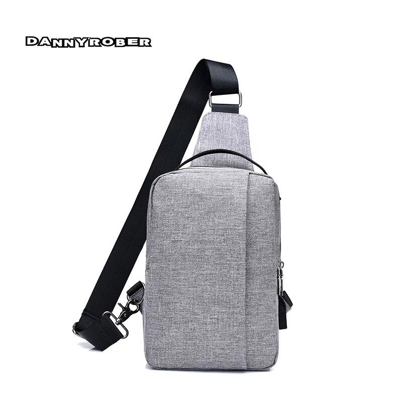 New Arrival Men Chest Pack Single Shoulder Strap Back Bag Crossbody Bags For Women Sling Shoulder Bag Back Pack Travel D329