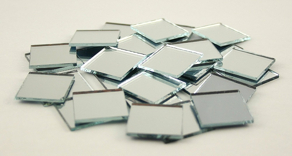 pequeos pedazos de espejo
