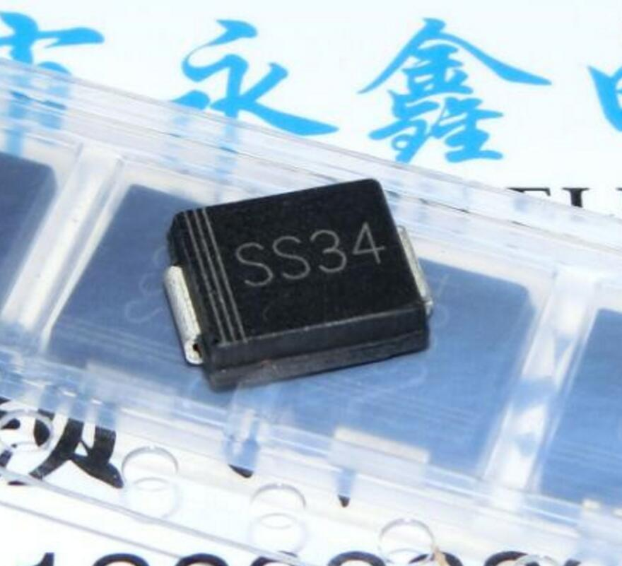 SS 34 Diode Schottky 40V 3A 2-Pin SMC SS34 ...