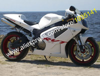 For Honda VTR 1000 SP1 SP2 RC51 00 07 RVT 1000R 2000 2001 2002 2003 2004 2005 2006 2007 White ABS Motorcycle Fairing