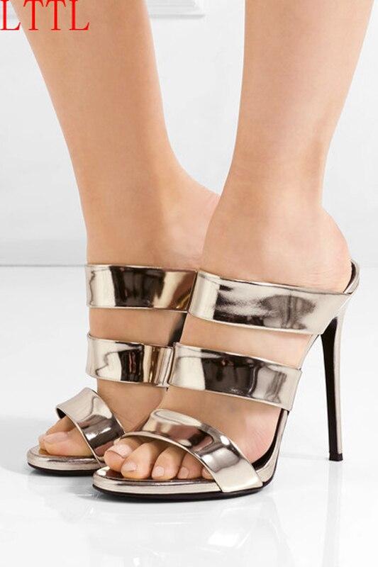 ФОТО 2017 New Fashion Womens Peep-toe Pumps Summer New Simple High Heels Slip-on shoes Women's Shoe Pumps High-heeled Party Shoes