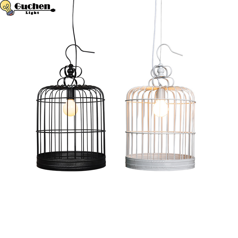 Nordic LED Pendant Light Children Room Iron Birdcage lampshade hanglamp Bedroom/Restaurant/shopwindow ceiling led Fixture lustreNordic LED Pendant Light Children Room Iron Birdcage lampshade hanglamp Bedroom/Restaurant/shopwindow ceiling led Fixture lustre