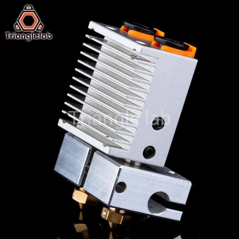 Trianglelab Multi экструзии двойной экструзии охлаждения Химера + для 3D принтер для E3D hotend обновления мульти Цвет экструдер комплект