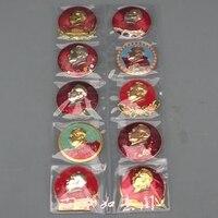Vorsitzenden Mao abzeichen souvenir abzeichen 10 Mao Zedong abzeichen anzahl set