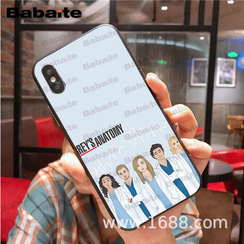 Untuk iPhone 11pro Max Kau Orang Grays Anatomy Hitam Cell Phone Case untuk iPhone X XS Max 5 6S SE 7 8 PLUS XR Ponsel Kasus