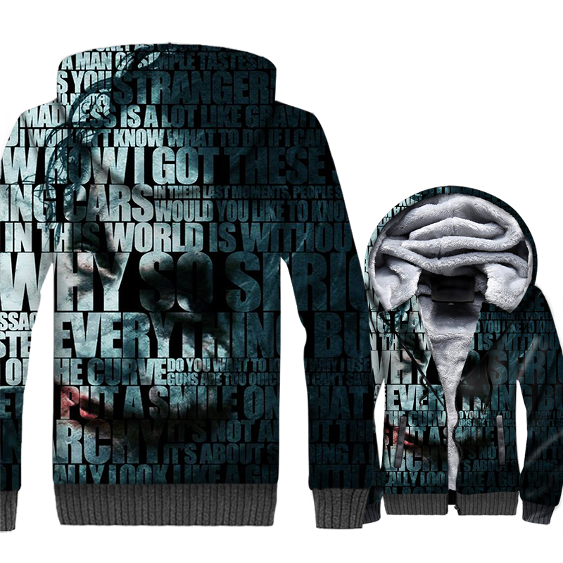 BATMAN Superhero Sweatshirts For Men 2018 Autumn Winter Brand Clothing Streetwear Joker 3D Men 39 s Hoodies Harajuku Jackets Tops in Hoodies amp Sweatshirts from Men 39 s Clothing