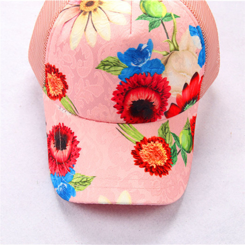 Baseball Cap Women 2018 New Summer Vintage Print Snapback Hat Hippie Hip-Hop Adjustable Casual Hat Fall Girl Wholesale #FJ13 (5)