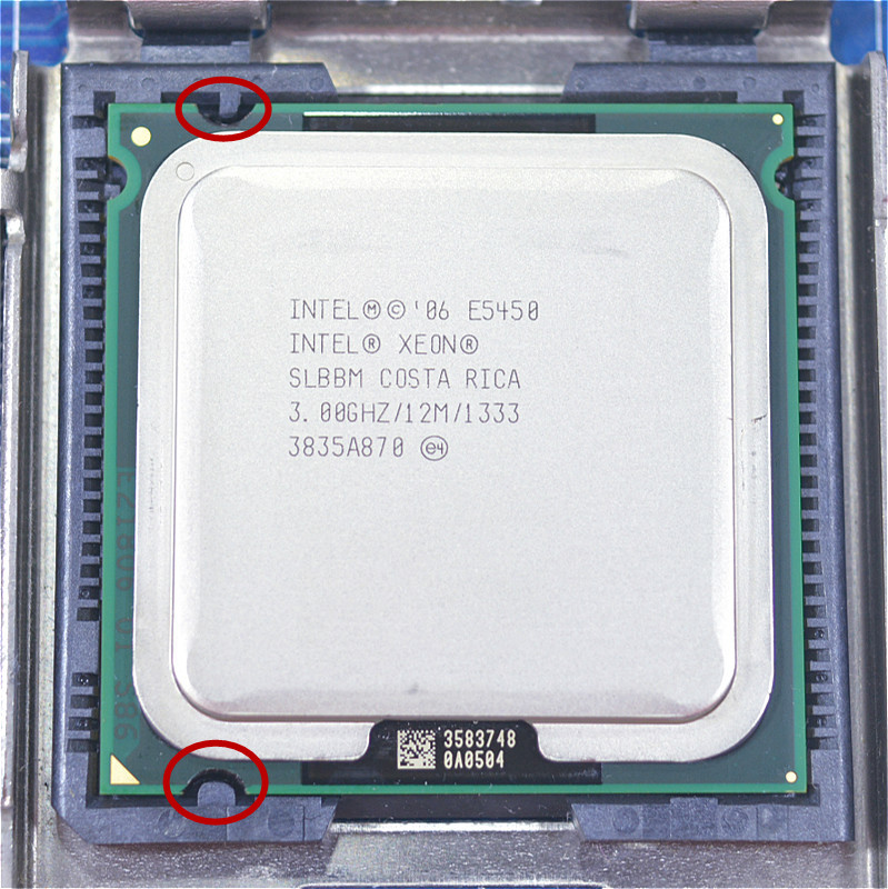 US $14 85 |Intel Xeon E5450 Quad Core 3 0GHz 12MB SLANQ SLBBM Processor  Works on LGA 775 mainboard no need adapter-in CPUs from Computer & Office  on