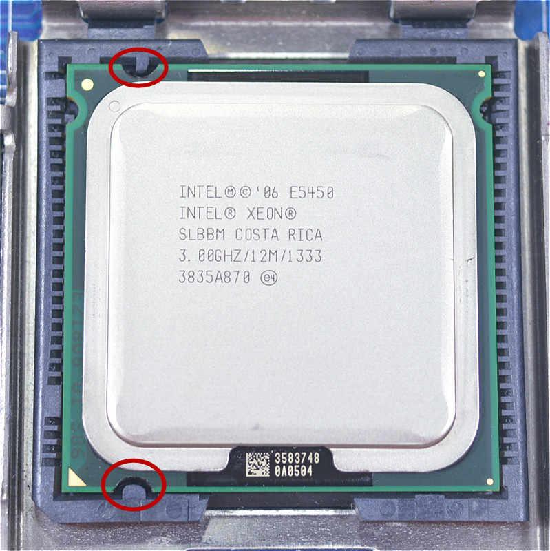 Intel Xeon E5450 Quad Core 3.0GHz 12MB SLANQ SLBBM Processor Works on LGA 775 mainboard no need adapter