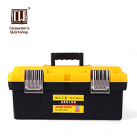 Aluminum Alloy Portable Art Hardware Storage Toolbox Maintenance Multi Purpose Household Car Kit
