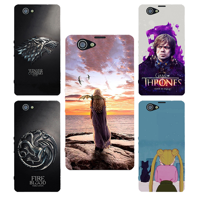 For Sony Xperia Z1 Compact case Game of Thrones silicone Phone cover Case For Sony Xperia Z1mini Case D5503 M51W Coque Shell
