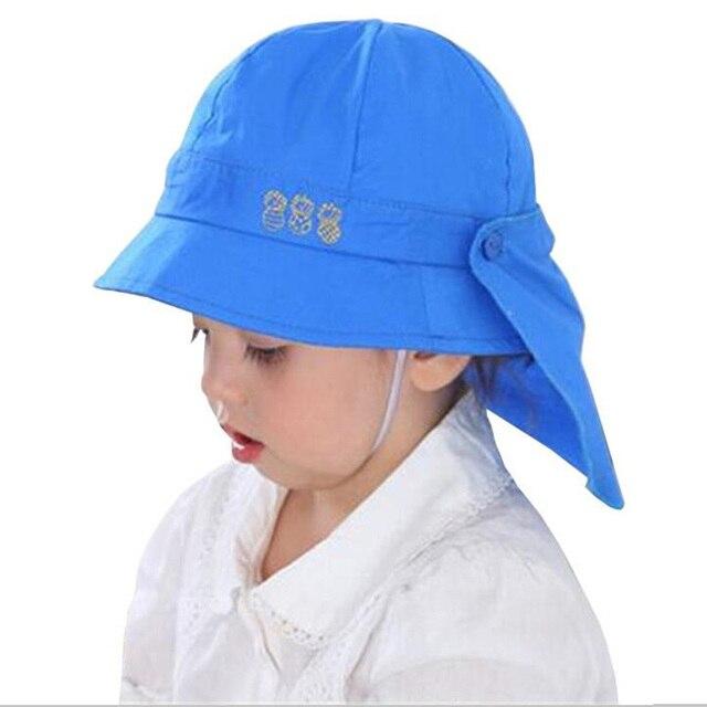 999d9da4d Sombrero de verano para bebé niños niñas sombreros de sol gorras de primavera  otoño con chal