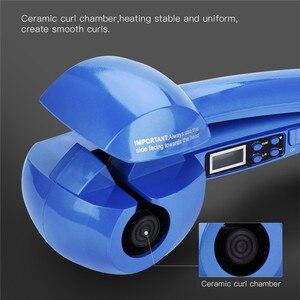 Image 3 - דיגיטלי אוטומטי קרלינג ברזל קרמיקה רולר להסס מכונת מהיר חימום רולר מתולתל שיער ליידי טמפרטורת בקרת שיער Curler
