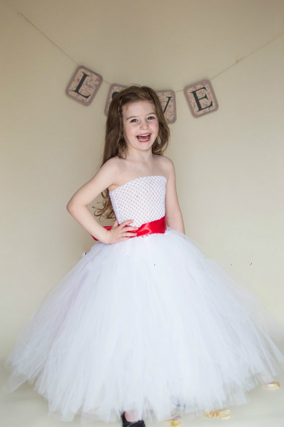 tulle fluffy ball gown birthday costume cloth Cinderella tutu party dresses white baby bridesmaid flower girl wedding dress lilac tulle open back flower girl dresses with white lace and bow silver sequins kid tutu dress baby birthday party prom gown