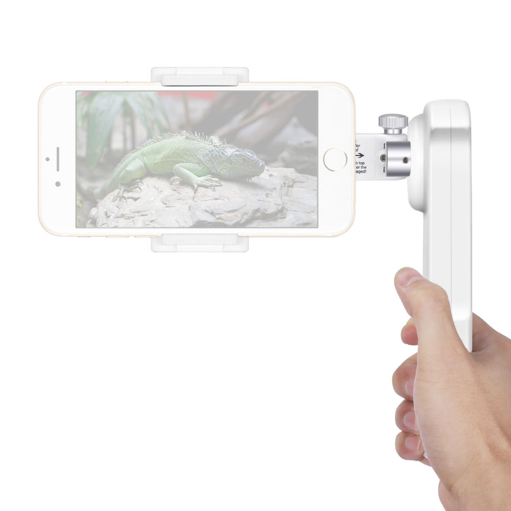 Neewer NW-2AG200 2-Axis Foldable Handheld Smartphone Gimbal Stabilizer for iPhone 7 Plus 7 6s 6s Plus/Samsung S5 S6 Edge Plus pc material protective water resistance phone pouch for iphone 6 6 plus 6s samsung note 5 s6 edge plus etc