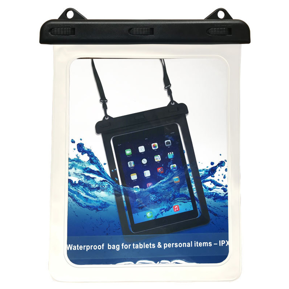Detachable Lanyard Sports Waterproof Universal Case Full Dry Bag Underwater Tablet Accessories Protector For IPad Swimming