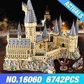Волшебный замок Гарри Поттера 16060 legoing Гарри Поттер Хогвартс Школа 71043 модель строительные блоки кирпичи
