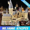 Harry Potter castello Scuola di Magia 16060 legoing harry potter scuola di Hogwarts 71043 Modello di Costruzione di blocchi di Mattoni