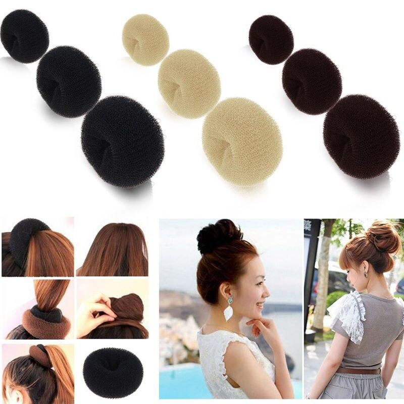 LNRRABC Ball Girls Headwear Disk Donuts Dish Hair Hairdressing Tools For Women Hair Accessories diademas para mujer hair ties