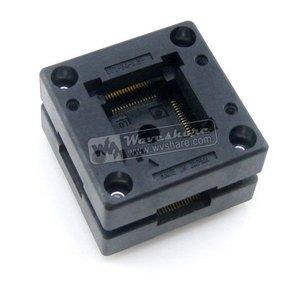 Image 2 - QFP64 TQFP64 LQFP64 PQFP64 OTQ 64 0.5 01 Enplas QFP IC Test Burn In Socket 0.5mm Pitch