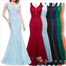 summer autumn women s lace long dress fashion sleeveless sexy v-neck  bodycon party club Floor c1ae4466bf54