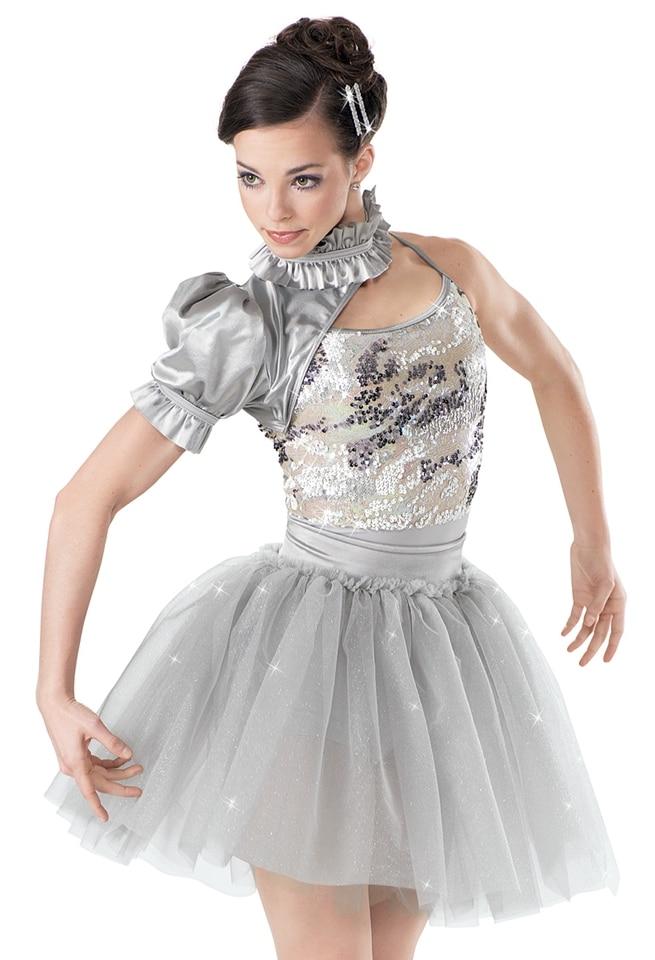 NEW sequin blue red kids adult competition tu tuballet modern lyrical tap dance dress