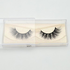 Image 4 - Visofree Eyelashes 3D Mink Lashes natural handmade  volume soft lashes long eyelash  extension real mink eyelash for makeup E01
