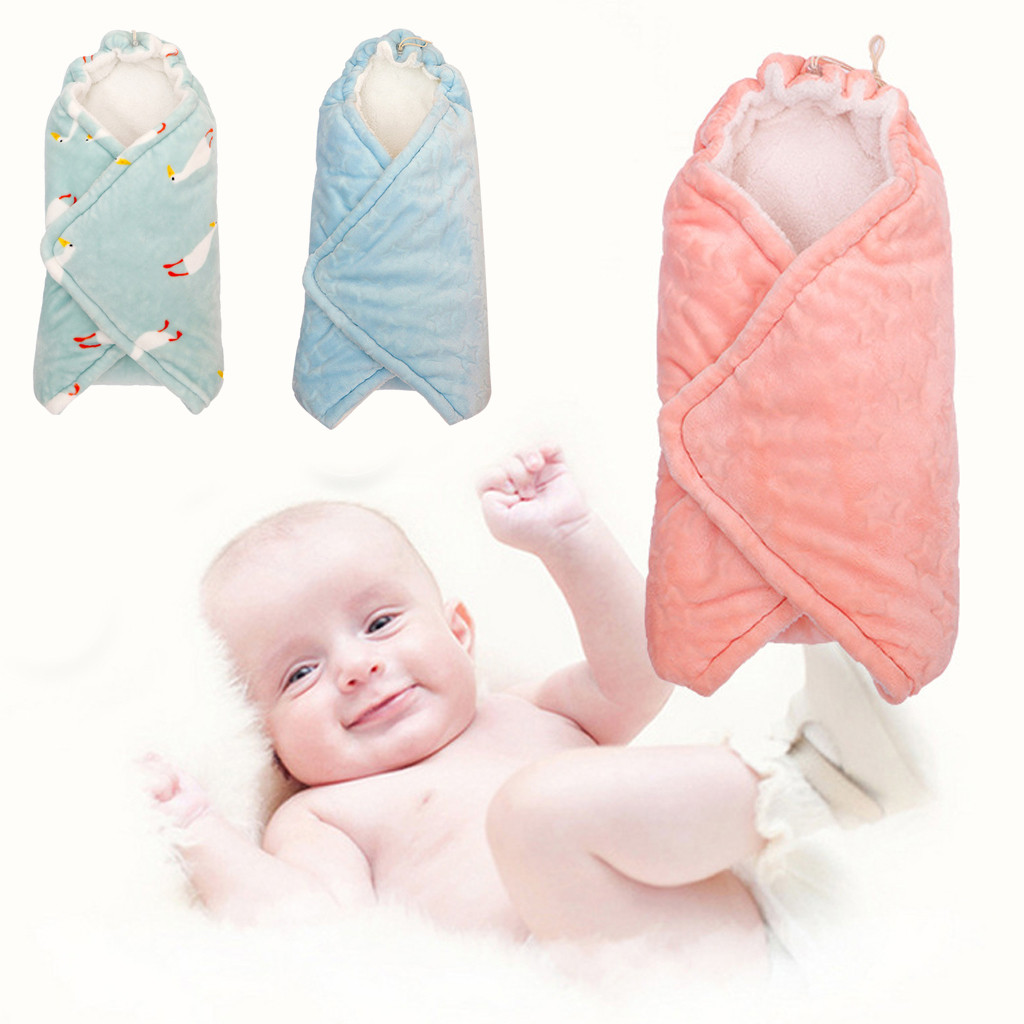 0~12Months, White Baby Swaddle Wrap Blankets for Newborns /& Infants Cute Cotton Receiving White Sleeping Blanket Boy Girl Wrap Swaddle