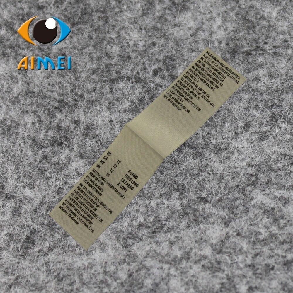 Wholesale/Retail 1X8cm Eco Friendly Black Ribbon Printed