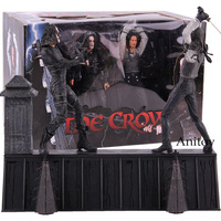 NECA The Crow Action Figure Eric Draven VS. Top Dollar Horror Movie Dolls PVC Collectible Model Toy