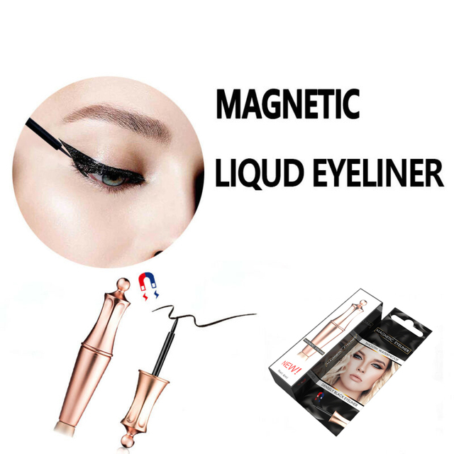 2019 Hot Magnetic Liquid Eyeliner for Eyelashes Fast Drying Easy to Wear Long-lasting Eyeliner Waterproof Sweat-proof TSLM1 1