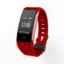 S2 Smart Band IP67 водонепроницаемый браслет проснуться Экран сердечного ритма браслет шагомер Шаг ходьбы traker для iOS и Android