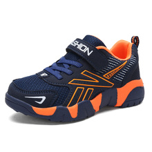 New Spring Autumn Children Shoes Boys Sports Fashion Brand Casual Kids Sneaker Outdoor Training Breathable 1712
