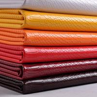 1 Meter Faux Snake Skin Imitation Leather Fake Fur Fabric Wallet Holographic Leather Purse Supplies Materials