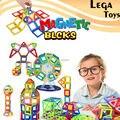58 PCS MINI Iluminar Tijolos blocos de brinquedo Magnético Magnético Brinquedo Designer 3D Blocos De Construção De brinquedos Educativos para crianças