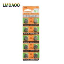 10 шт./карта AG10 для часов игрушки дистанционного управления 189 LR54 ячейка монета щелочная батарея 1,55 в SR54 389 189 LR1130 389 SR1130 Батарейки Кнопки