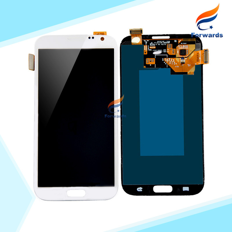 5 PCS/LOT DHL EMS Free Shipping for Samsung Galaxy Note 2 N7100 N7102 N7105 i317 LCD Screen Display Touch Digitizer Assembly New